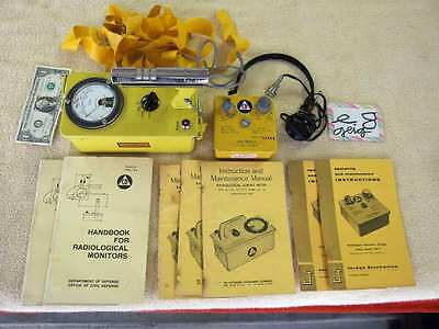 Radiological survey radiation meter radiation geiger counter with extras