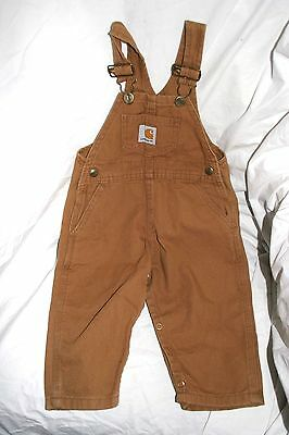 Carhartt toddler overalls 1 yr old 18 mos