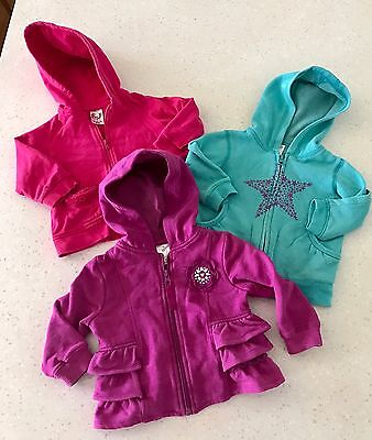 Girls Hooded Jackets Size 1