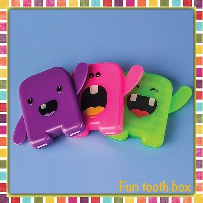 Tooth Fun Case/ Tooth Fairy Box/ Tooth keepsake