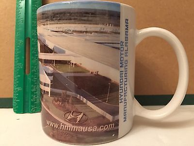 Hyundai Motor Manufacturing Plant Ceramic Coffee Mug Alabama Auto Collectible