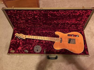Fender Select Telecaster  Carved Maple Top Electric Guitar American