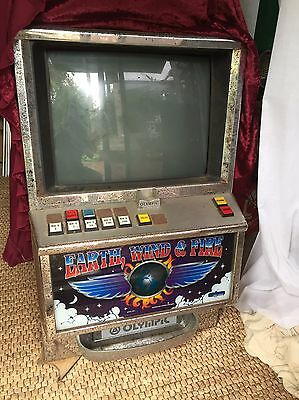 Retro Old Earth Wind And Fire Poker Machine