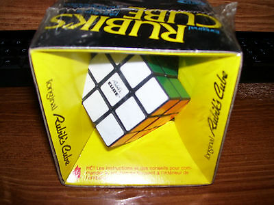 "Vintage 1980 Original RUBIK""S CUBE still in package"