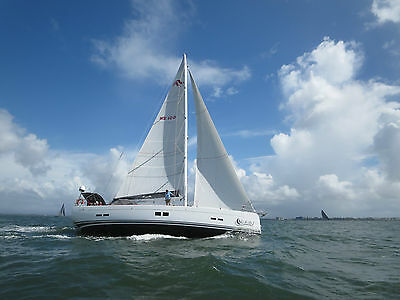 Sail - Main Sail, Quality Elvstrom Fcl Fully Battened, Only Used For 3 Months