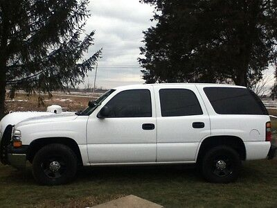 2005 Chevrolet Tahoe  05 Chevy Tahoe, Has Police Package, All power options, New Tires, Clean, Flex
