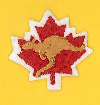 1987 World Scout Jamboree CANADA / CANADIAN SCOUTS Contingent HAT Patch