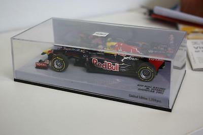 1/43 Minichamps Red Bull Racing Show Car 2012 M.Webber Limited Edition