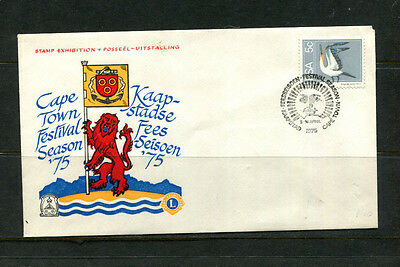 South Africa 1975 Commemorative Stamp Cover Cape Town Stamp Exhibition