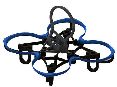Lynx Blue Spider 65 FPV Racer Frame - Uses Blade Inductrix Components LX2202