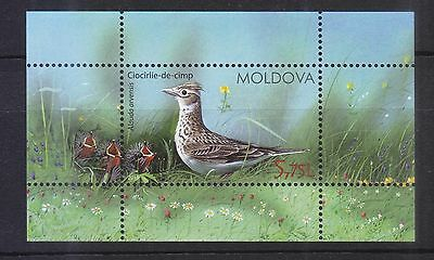 Moldova 2015 Birds Of Moldova Souvenir Sheet Of 1 Stamp In Mint Mnh Unused