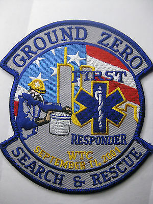 U.s. Fire Brigade Fire Patch Patch Fdny Ground Zero First Responder New Carnival