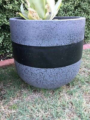 Outdoor Garden Patio Plant Terracotta Pot Planter Mason Green GLAZED Shabby Chic