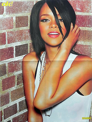 Robyn Rihanna Fenty, Barbadian recording artist and actress Mega Poster poster