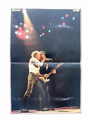 The Who band - Roger Daltrey - English rock band formed 1964 (47x31cm) Poster