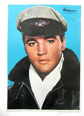 Elvis Presley American singer and actor OLD PORTRAIT - MINI POSTER VERY RARE
