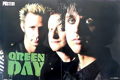 Green Day Poster 45x30cm + Paramore Poster on back