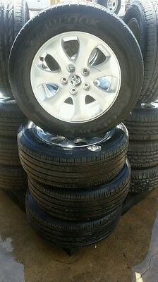 Holden commodore  ve rims and tyres 16 inch