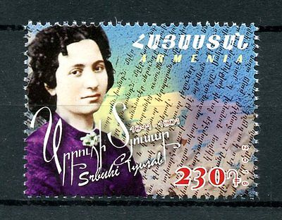 Armenia 2016 MNH Srbuhi Tyusab 1v Set Writers Stamps
