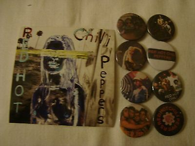 Red Hot Chili Peppers  Job Lot 8 x  Badges  + Sticker