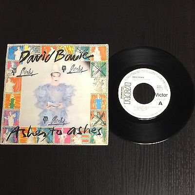 David Bowie Single Ashes to ashes