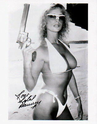 SYBIL DANNING ~ GRINDHOUSE - HALLOWEEN ~ #3 ~ SIGNED 10x8 PHOTO COA