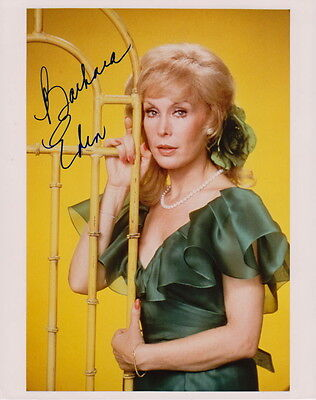 BARBARA EDEN ~ HARPER VALLEY P.T.A. - I DREAM OF JEANNIE ~ SIGNED 10x8 PHOTO COA