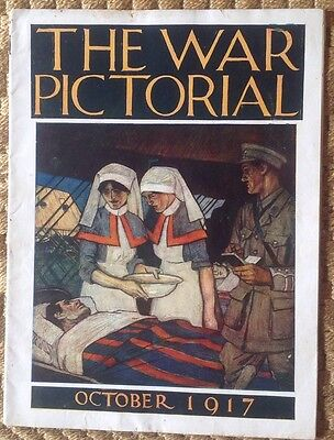 The War Pictorial, October 1917. Original WWI Pictorial Magazine
