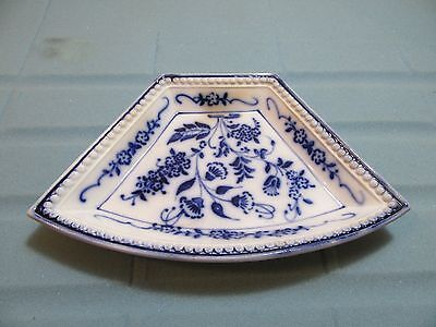 Ceramic bowl blue decor Vienna