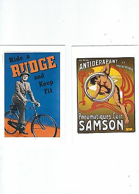 Advertising  Postcards  Cycle Related