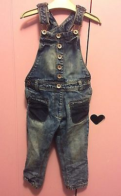 Girls NEW  Next 3 Years Dungarees  / Jump Suit Bnwot