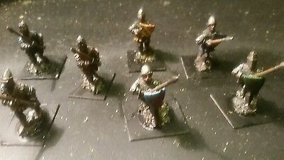 28mm painted hyw dismounted men at arms short lance
