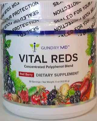 Gundry Md Vital Reds * Dietary Supplement * Concentrated Polyphenol Blend