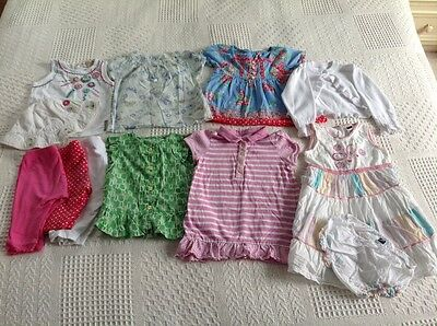 Bundle of Girls Clothes 12-18 Months Spring, summer John Lewis Mothercare M&S