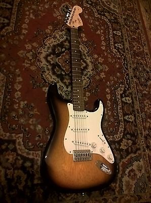 Fender Squier brand name Electric Guitar in excellent condition, used