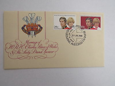 1981 Royal wedding first day cover