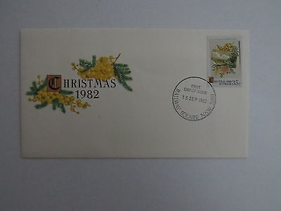1982 Christmas first day cover