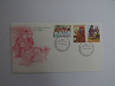 1986 Australian Christmas first day cover