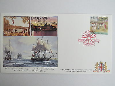 1987  The First Fleet  first day cover