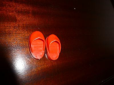 famoba  red doll's shoes no 32