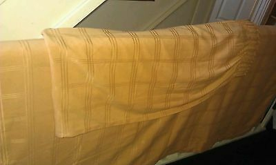 """2 Panel Thick Heavy Curtina Gold Curtains 63"""" X 88"""""""