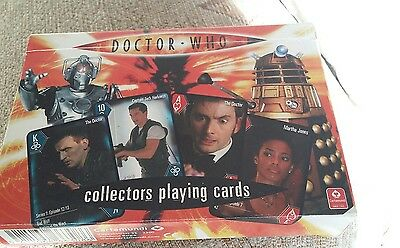Doctor Who Collection Collectors' Playing Cards David Tennant