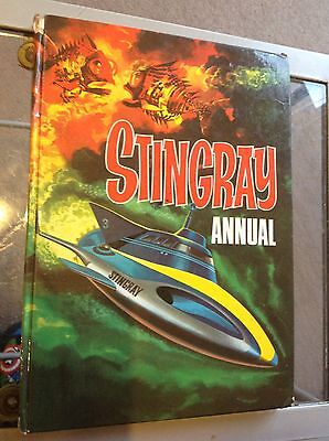 Stingray Annual 1965 Vintage Gerry Anderson Troy Tempest
