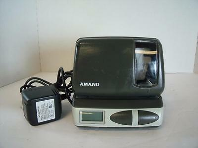 Amano PIX-21 Electronic Certified Time Recorder Time Clock (Date & Time Stamp)