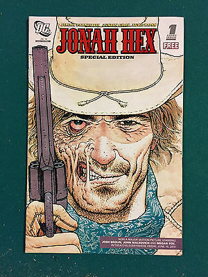 JONAH HEX SPECIAL EDITION #1 (2010) DC COMICS  VF to NM
