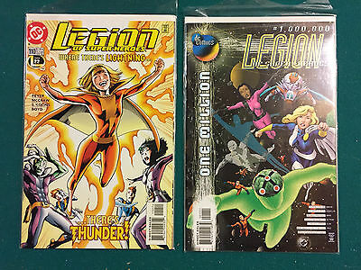 Legion of Super-Heroes (1989 4th Series) #110 & one million VF to NM  DC