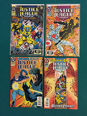 Justice League America (1987) #80,81,82,89   VF to NM
