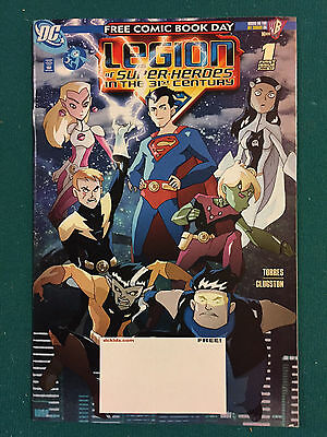 LEGION OF SUPER HEROES IN THE 31ST CENTURY FREE COMIC BOOK DAY 2016  VF to NM