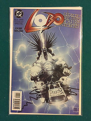 Lobo In the Chair #1 DC Comics Aug 1994 VF to NM, Closer to NM