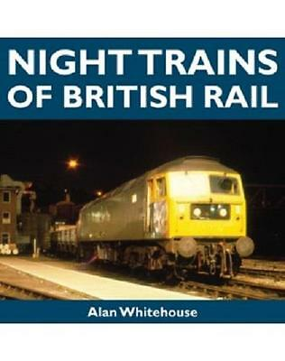 Night Trains of British rail BR blue colour photos